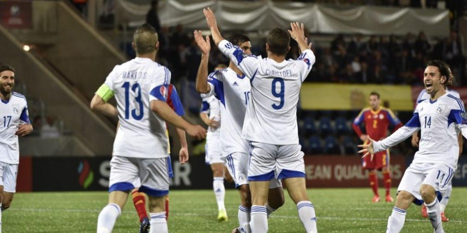 Con este resultado, los chipriotas se colocan nuevamente en posición de soñar con ir a la Euro. Foto:uefa.com