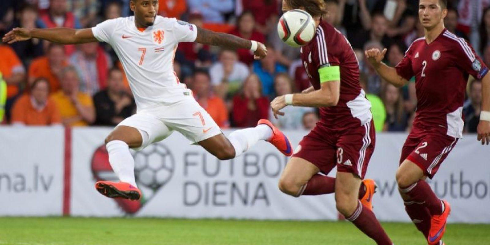 Letonia 0-2 Holanda Foto:uefa.com