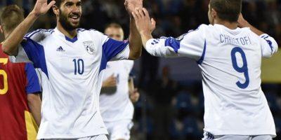 Andorra 1-3 Chipre Foto:uefa.com