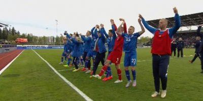 Islandia 2-1 República Checa Foto:uefa.com
