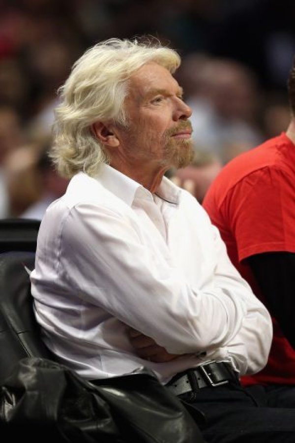 Él es Richard Branson. Foto: vía Getty Images