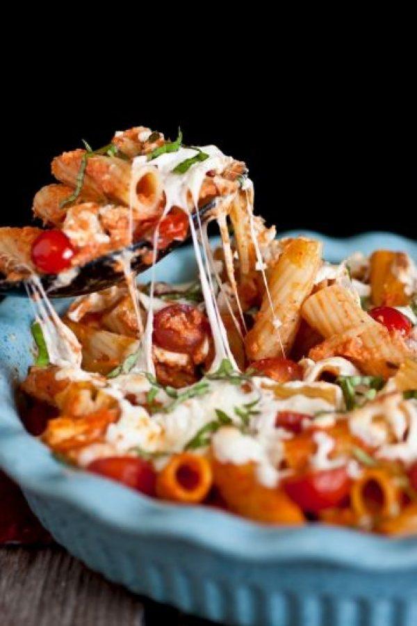 El queso se desprende de esta increíble combinación. Foto:vía cookingclassy.com