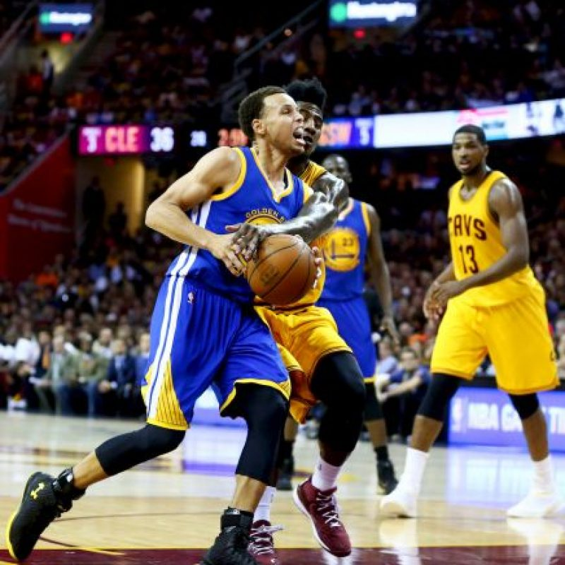 En tanto, Curry registra 98 puntos Foto: Getty Images