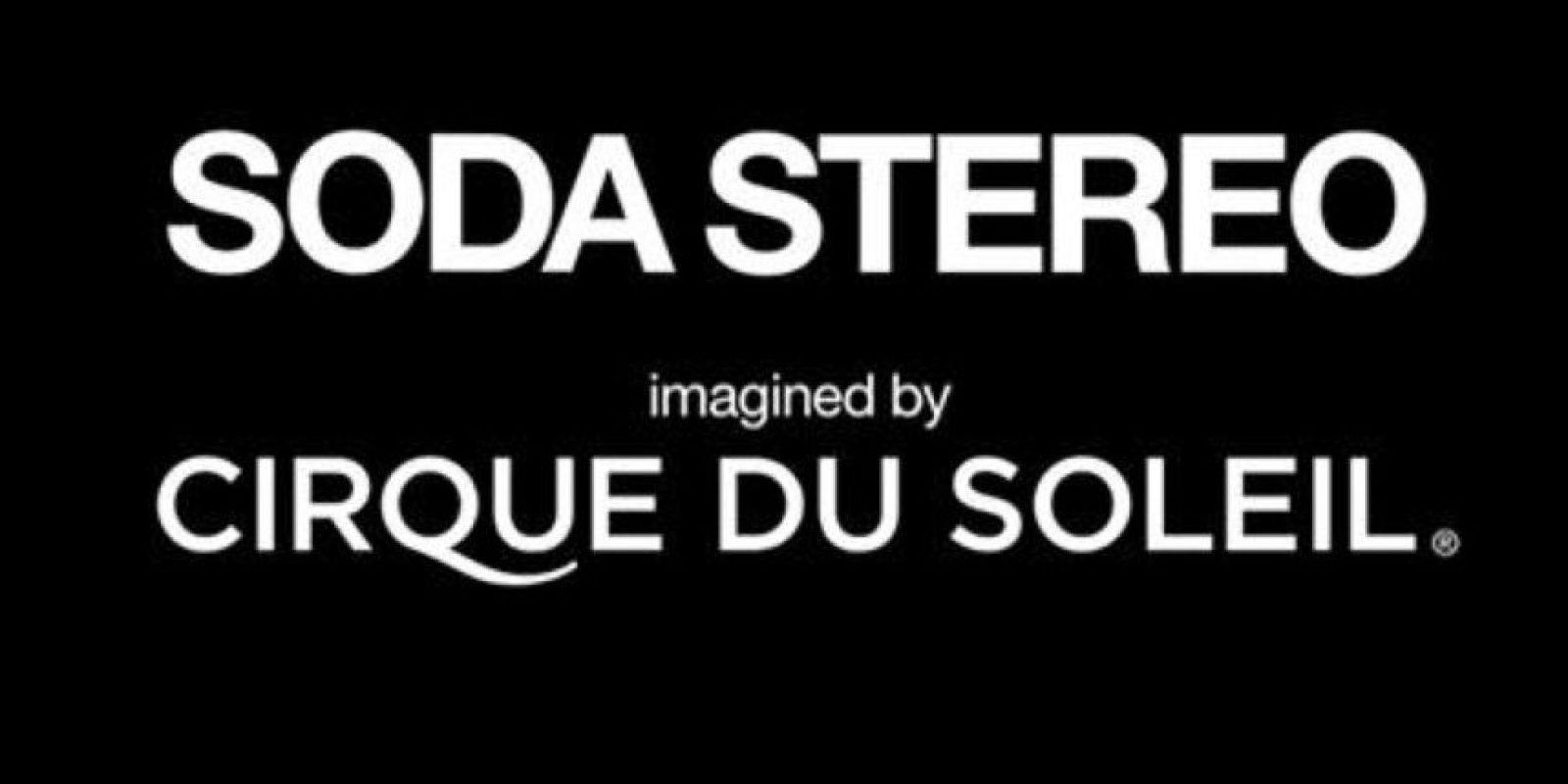 La compañía de circo más importante del mundo hará una obra con música de la banda argentina. Foto:Facebook/SodaStereo