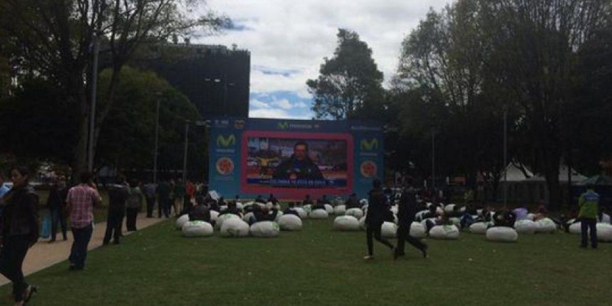 Así se vive el partido en las calles de Bogotá