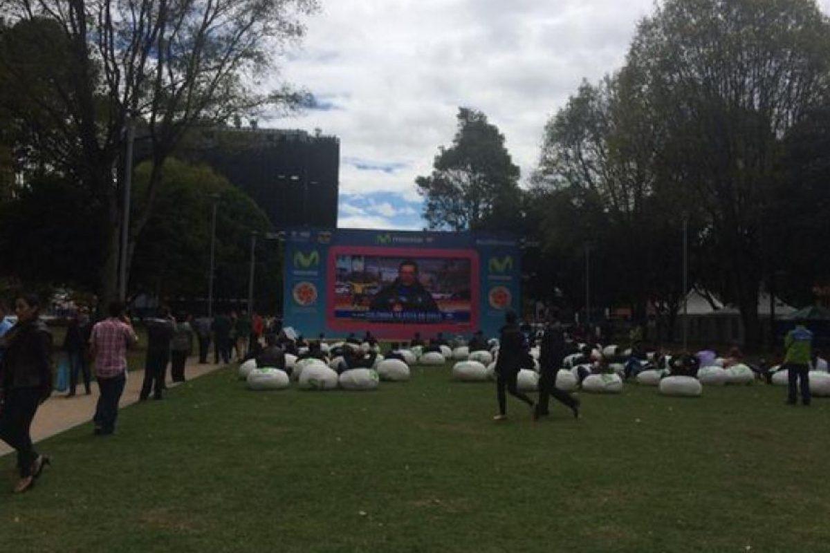 Desde las primeras horas de la mañana de este domingo los bogotanos se programaron en el Parque de la 93. Foto:Twitter / @ChMedina