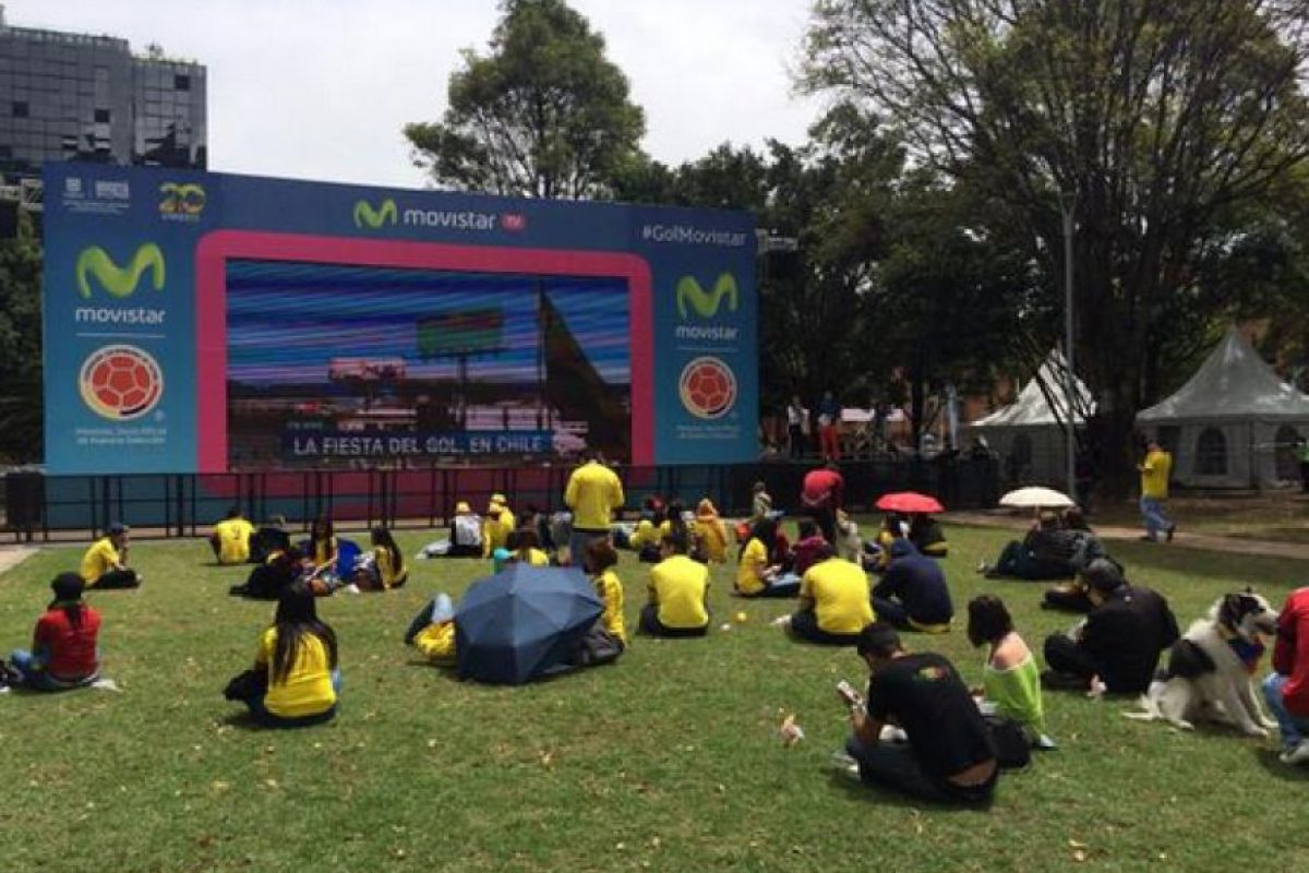 Desde las primeras horas de la mañana de este domingo los bogotanos se programaron en el Parque de la 93. Foto:Twitter / @Parquedela93