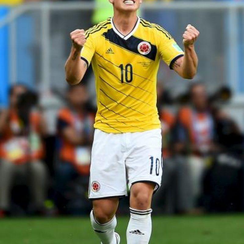 James Rodríguez es el gran referente colombiano. Foto:Getty Images