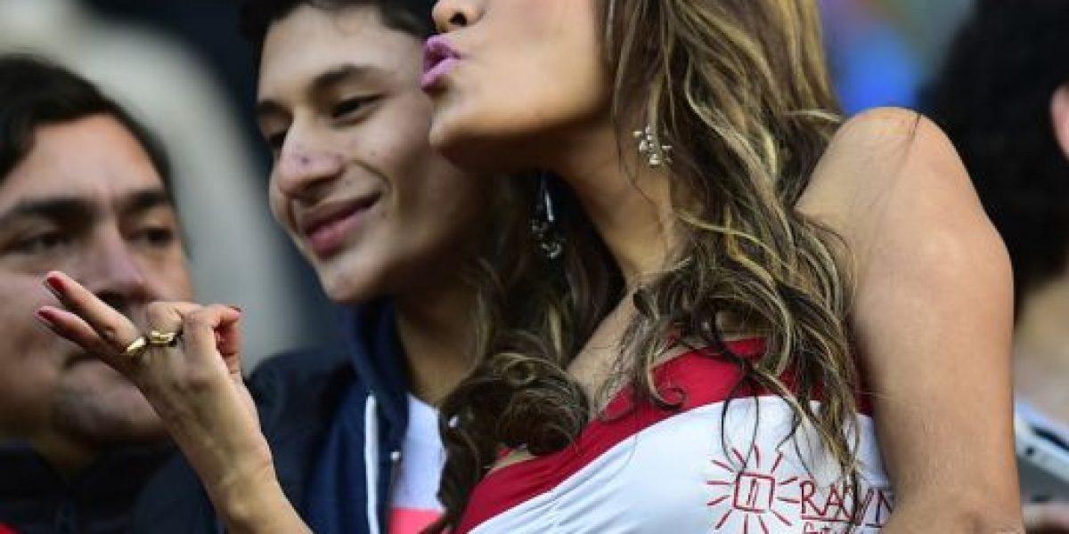FOTOS: Esta es la aficionada que deslumbró en el Brasil vs. Perú