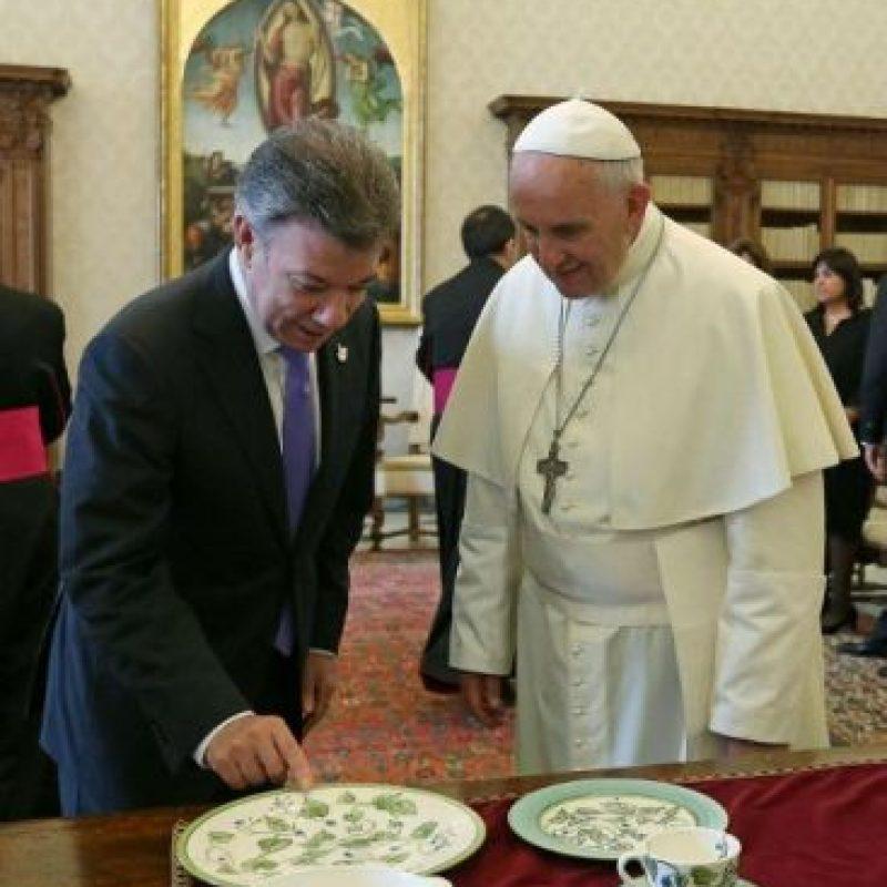 Durante este día se reunió con el presidente de Colombia, Juan Manuel Santos Foto:AFP