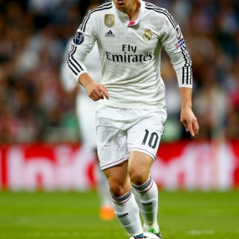MEDIOS: James Rodríguez (Real Madrid) Foto: Getty Images