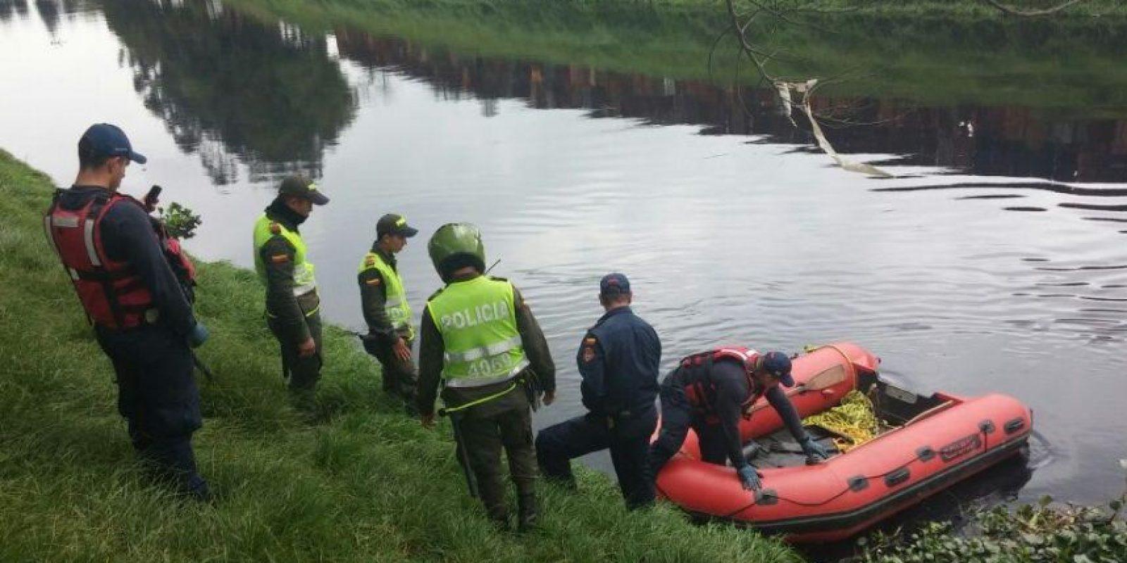 El rescate se realiza en el río Bogotá. Foto:Archivo