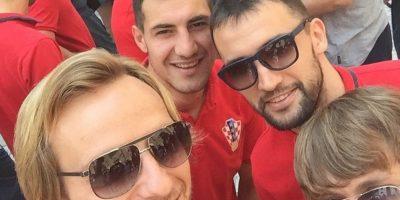 Ivan Rakitić con sus compañeros de la Selección croata. Foto:instagram.com/ivanrakitic