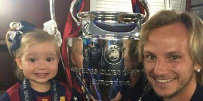 Ivan Rakitić ganó la UEFA Champions League. Foto:instagram.com/ivanrakitic