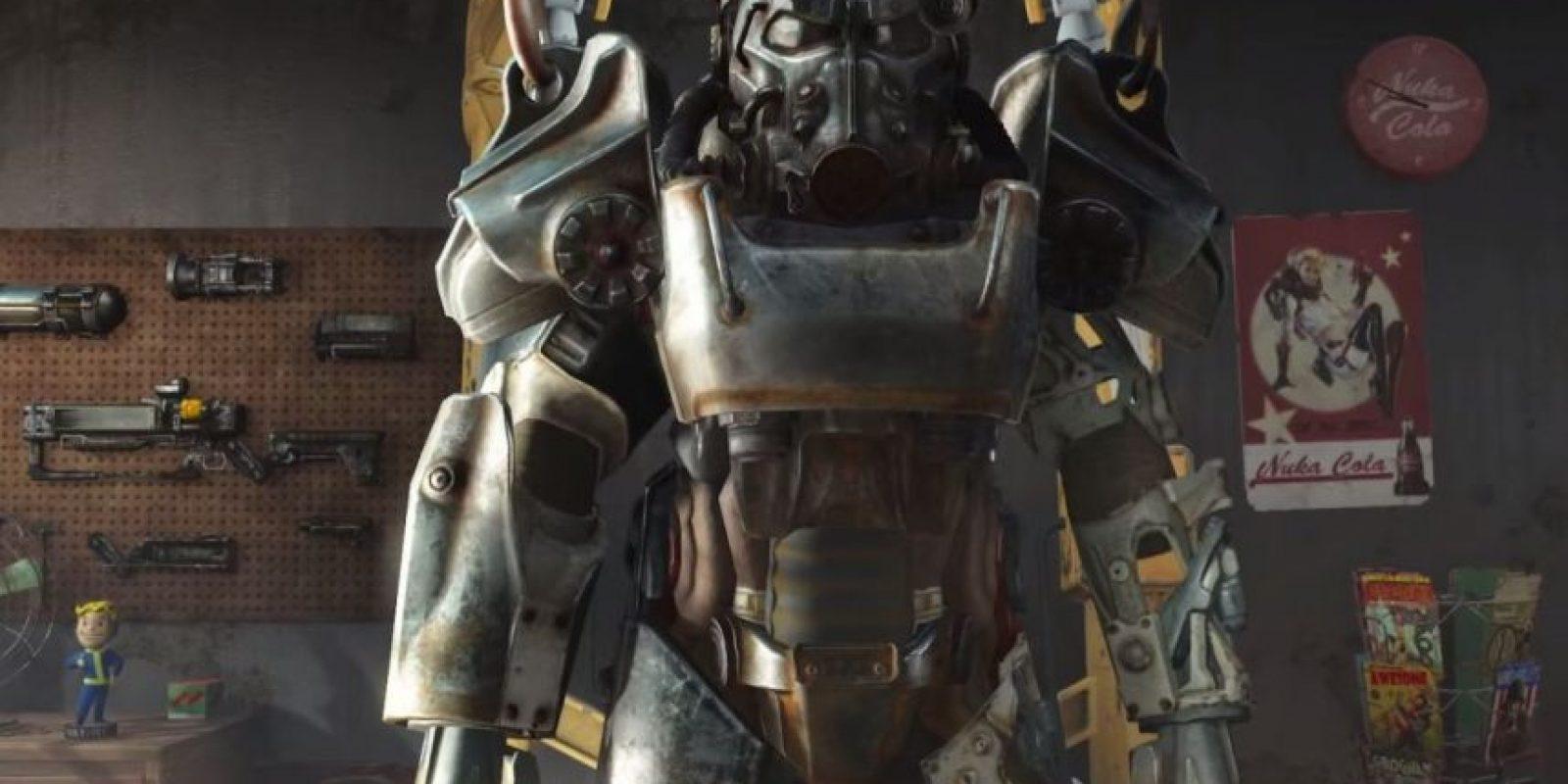 La armadura del personaje principal. Foto:Bethesda Softworks