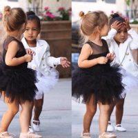 """11.- A pesar de lucir como una niña muy fashionista, la ropa de """"Nori"""" ha causado gran polémica. Foto:vía instagram.com/kimkardashian"""