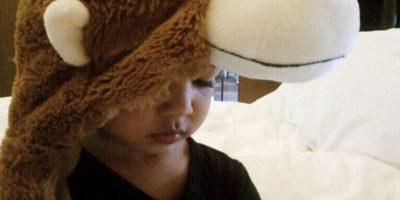 """15.- Las fotografías de """"Nori"""" son más populares que las de su sensual madre. Foto:vía instagram.com/kimkardashian"""