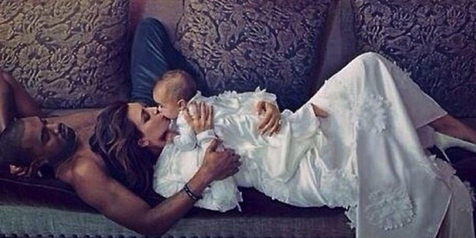 6.- Sus supuestas primeras fotografías se vendieron en miles de dólares desde Internet. Foto:vía instagram.com/kimkardashian
