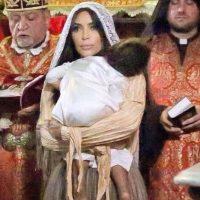 Kim Kardashian y su hija North West llegan en Jerusalén Foto:Instagram/KimKardashian