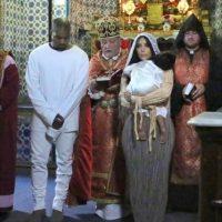 La familia West-Kardashian llegó a Israel para celebrar el bautizo de North West Foto:Instagram/KimKardashian