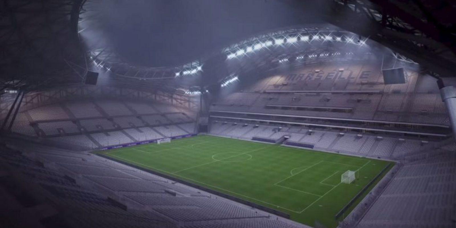 Stade Vélodrome de Marsella, Francia. Foto:EA Sports