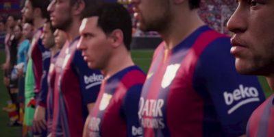 Barcelona en el Camp Nou. Foto:EA Sports