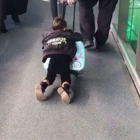17.- Probablemente North ha viajado más que cualquier niño de dos años promedio, pues la pequeña acompaña a sus padres la mayor parte del tiempo. Foto:vía instagram.com/kimkardashian