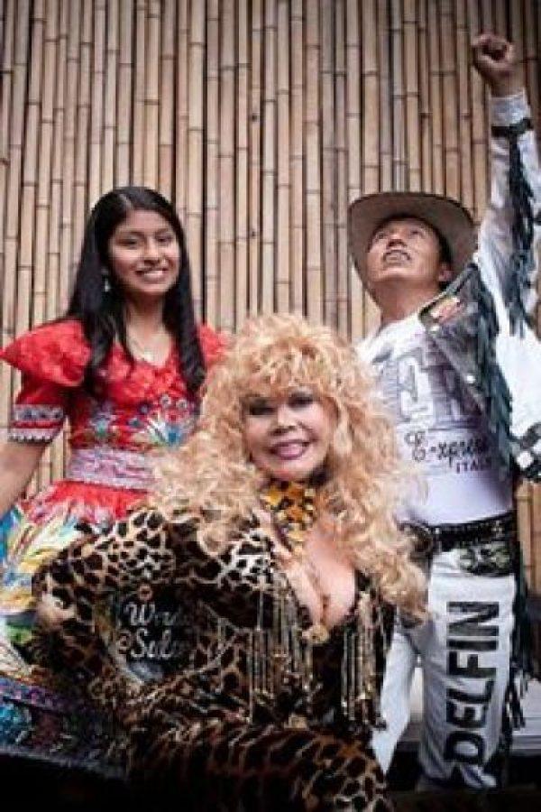 """""""La Tigresa del Oriente"""" es amada y odiada en el mundo por su particular estilo. Foto:vía Facebook/La Tigresa del Oriente"""