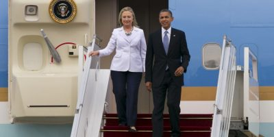 Clinton sugirió escuchasr las criticas de los demócratas al presidente Obama Foto:Getty Images