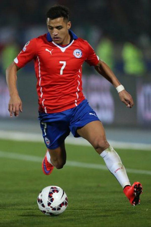 Alexis Sánchez de Chile Foto:Getty Images