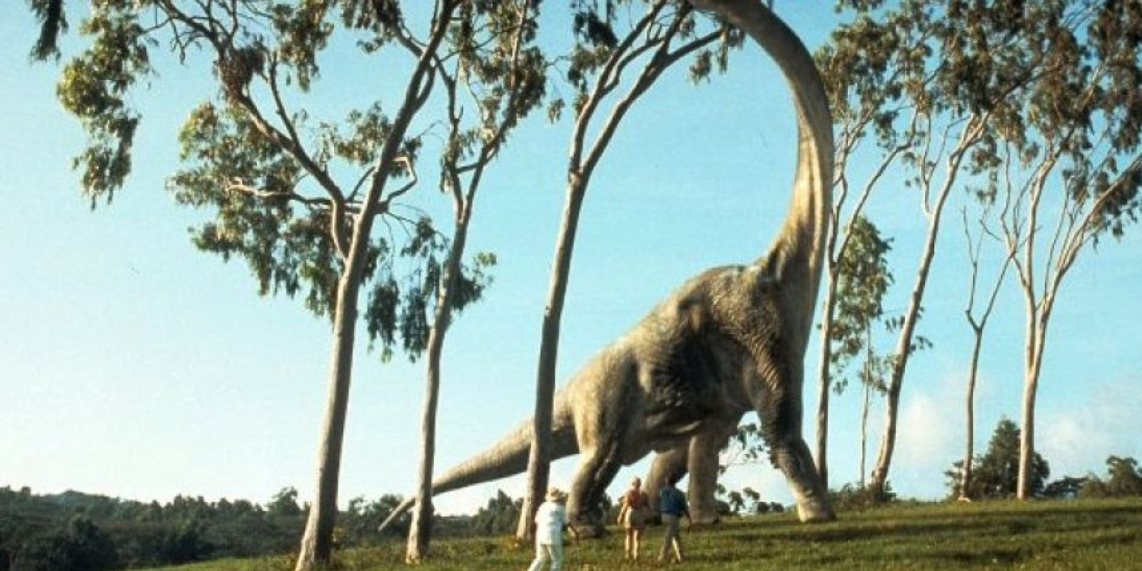 """En """"Jurassic Park"""" también lo llamaban """"Brontosaurio"""" Foto:IMDB"""