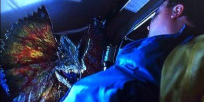 El escalofriante dinosaurio que asustó a muchos en la década de los años 90 con sus crestas. Foto:Vía Twitter