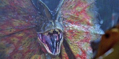 """A pesar de ser un holograma, en """"Jurassic World"""" logró asustar a uno de los Velociraptores. Foto:Vía Twitter"""