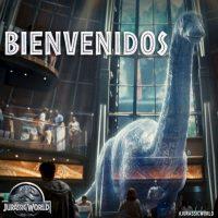 En la nueva cinta se le puede ver en los valles del parque y en un holograma. Foto:vía facebook.com/visitjurassicworld