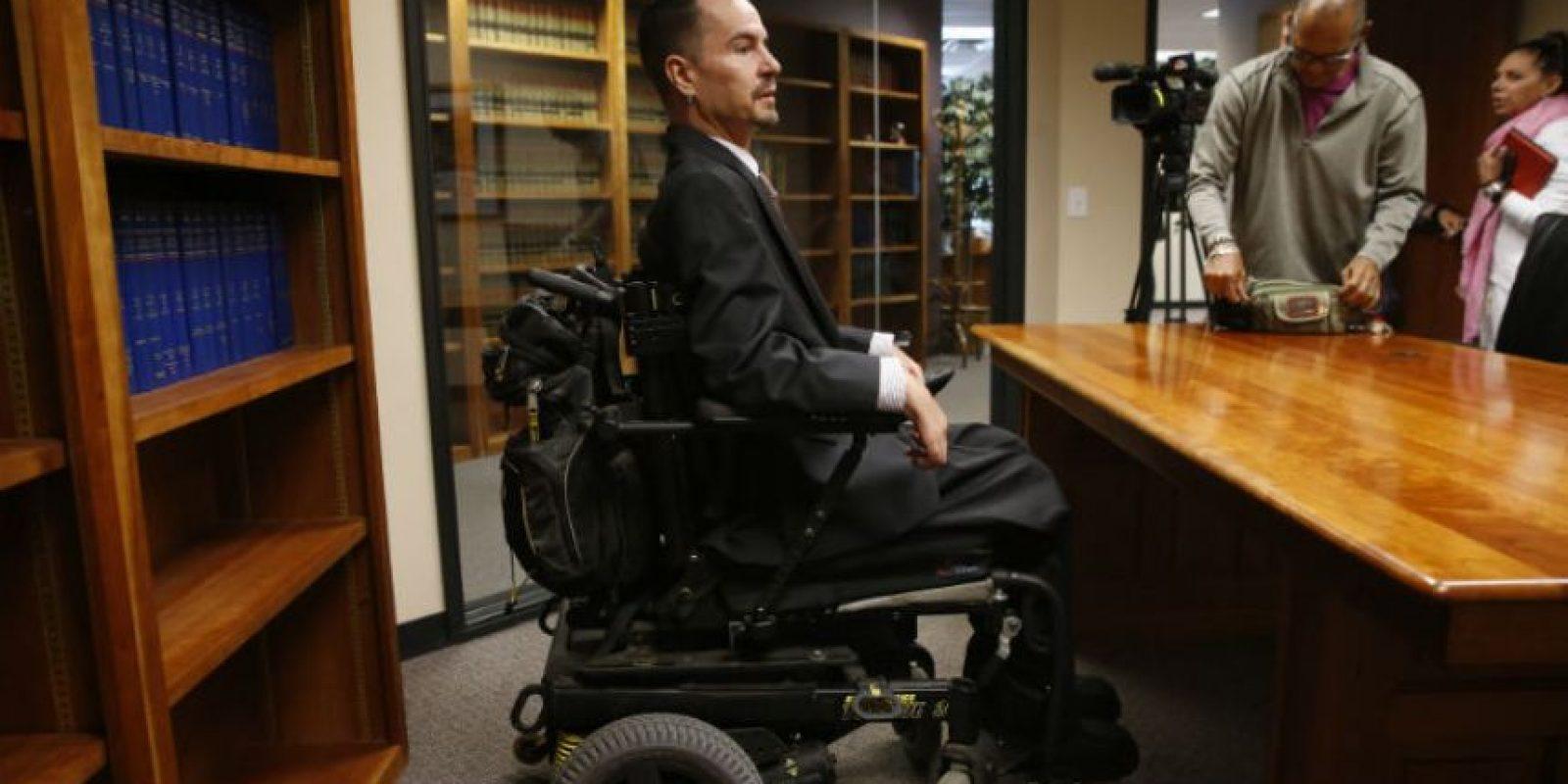 La Corte Suprema de Colorado falló encontra de un empleado tetrapléjico. Foto:AP