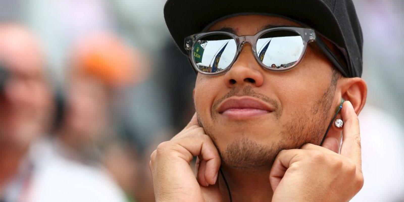 Además de destacar en los circuitos, Hamilton es todo un personaje fuera de los monoplaza. Foto:Getty Images