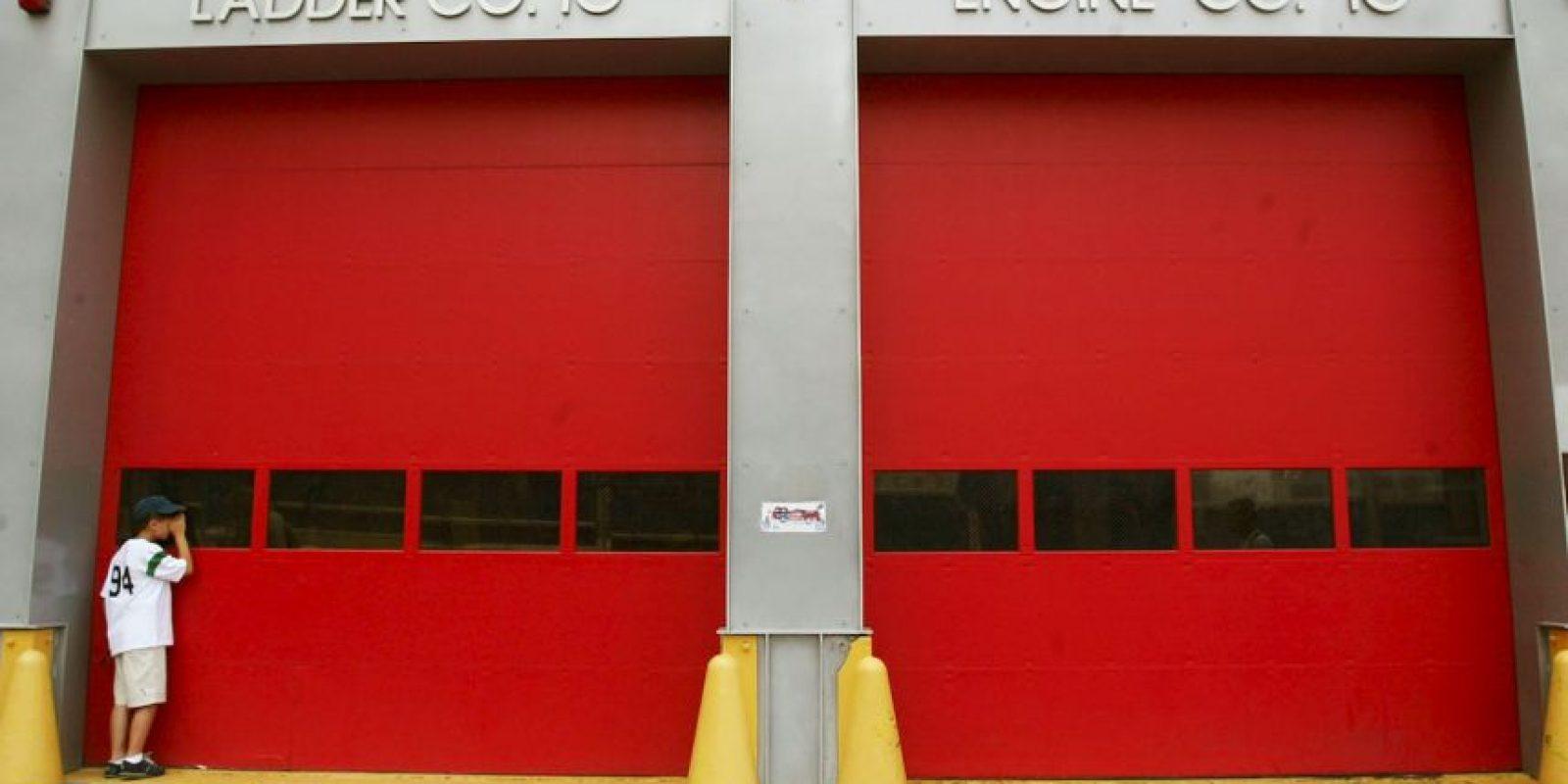 La pequeña fue abandona en una estación de bomberos. Foto:Getty Images