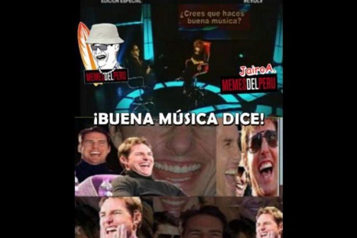 1. Puede que su música la odien muchos. Foto:vía Memes del Perú