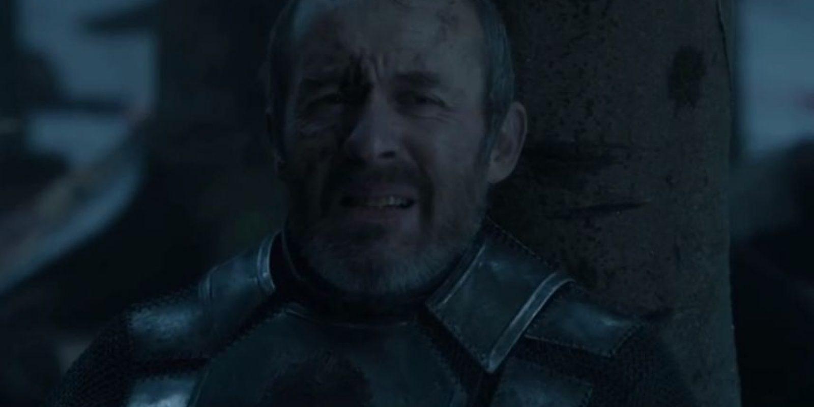 """18. Pero """"Stannis"""" es derrotado. """"Brienne de Tarth"""" lo mata. Foto:vía HBO"""
