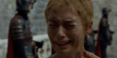 """19. """"Cersei Lannister"""" es desnudada y rapada y obligada a caminar por todo Desembarco del Rey, mientras recibe los insultos de la gente. Foto:vía HBO"""