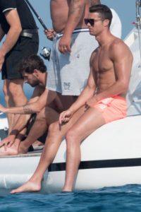 Cristiano se divirtió en grande en sus vacaciones. Foto:Grosby Group