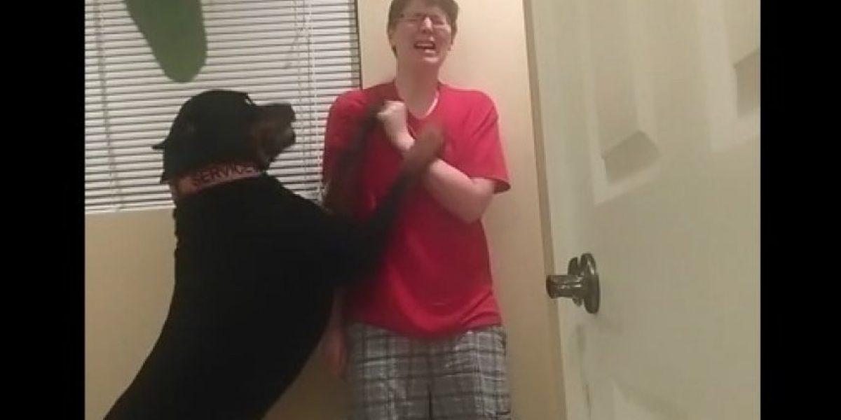 El video de este perrito será de lo más tierno que puedan ver hoy