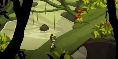 "Así luce el videojuego ""Lara Croft Go"" para celulares Foto:Square Enix"