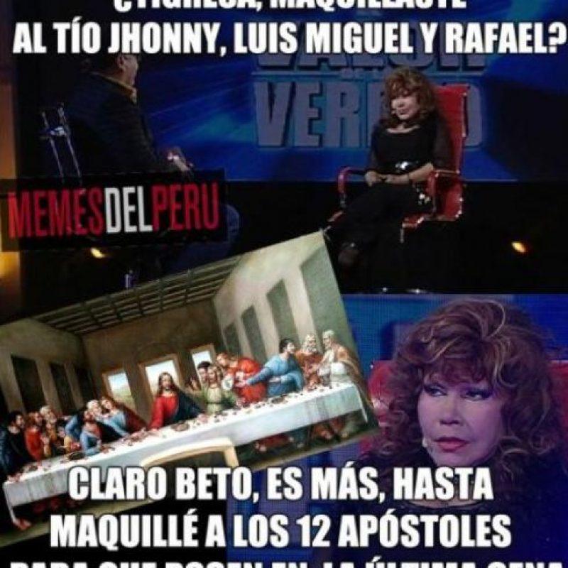 Pero procura no molestar a nadie. Foto:vía Memes del Perú