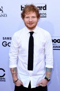 Y es fan de Ed Sheeran desde 2011. Foto:Getty Images