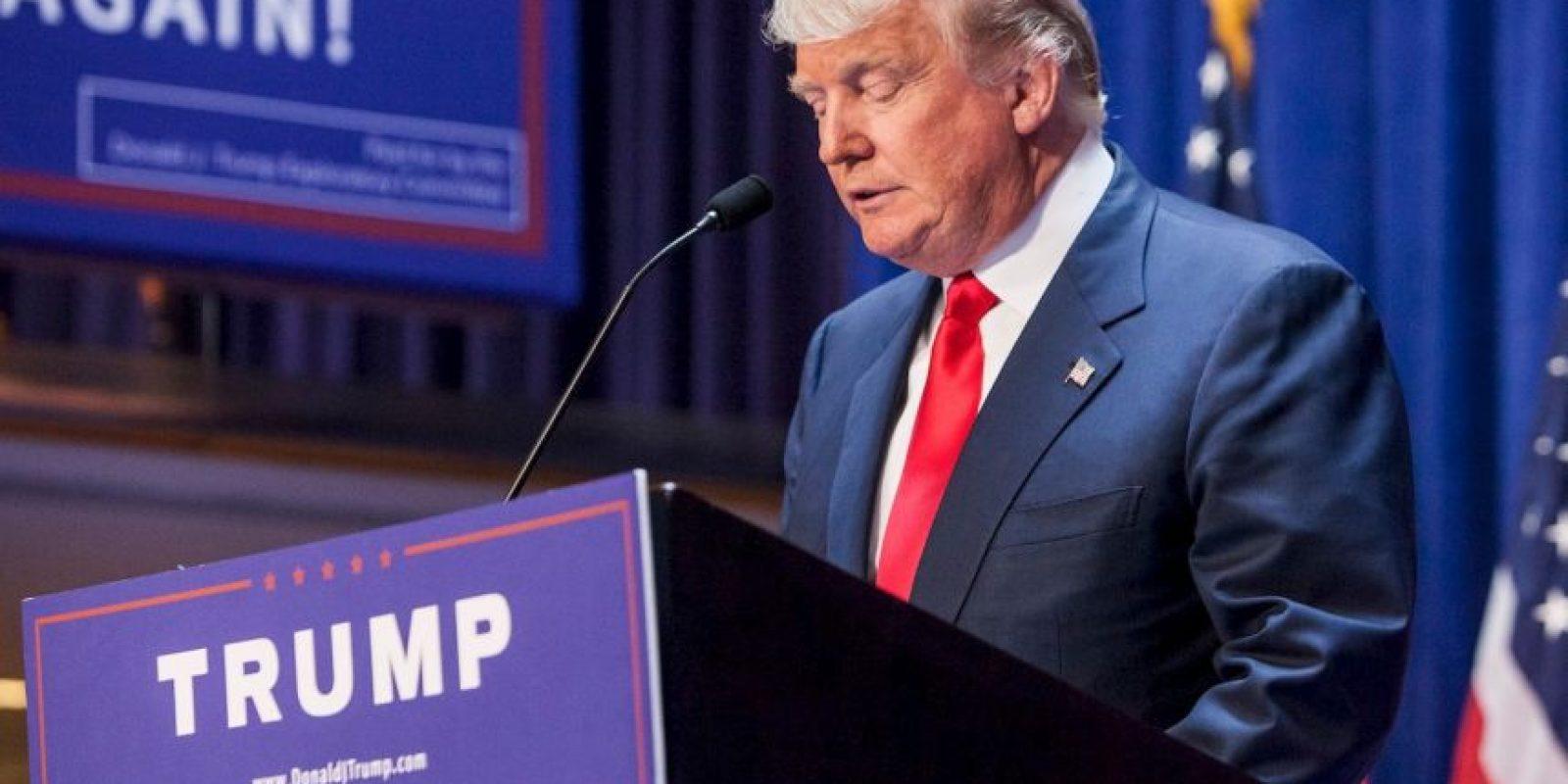 Es hijo de Fred Trump, un exitoso desarrollador inmobiliario. Foto:Getty Images