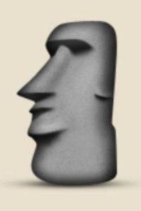 Isla de Pascua, Chile: Parece una cabeza de la popular isla, pero en realidad es una escultura ubicada en el Moyai, Toki, Japón. Foto:Pinterest
