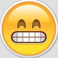 Burla o chiste: Aunque es parecido, en realidad se trata de una cara muy feliz. Foto:Pinterest