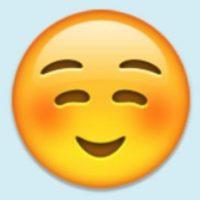 Satisfacción, felicidad o cara niño bueno: Pero su verdadero uso es para coquetear con alguien. Foto:Pinterest