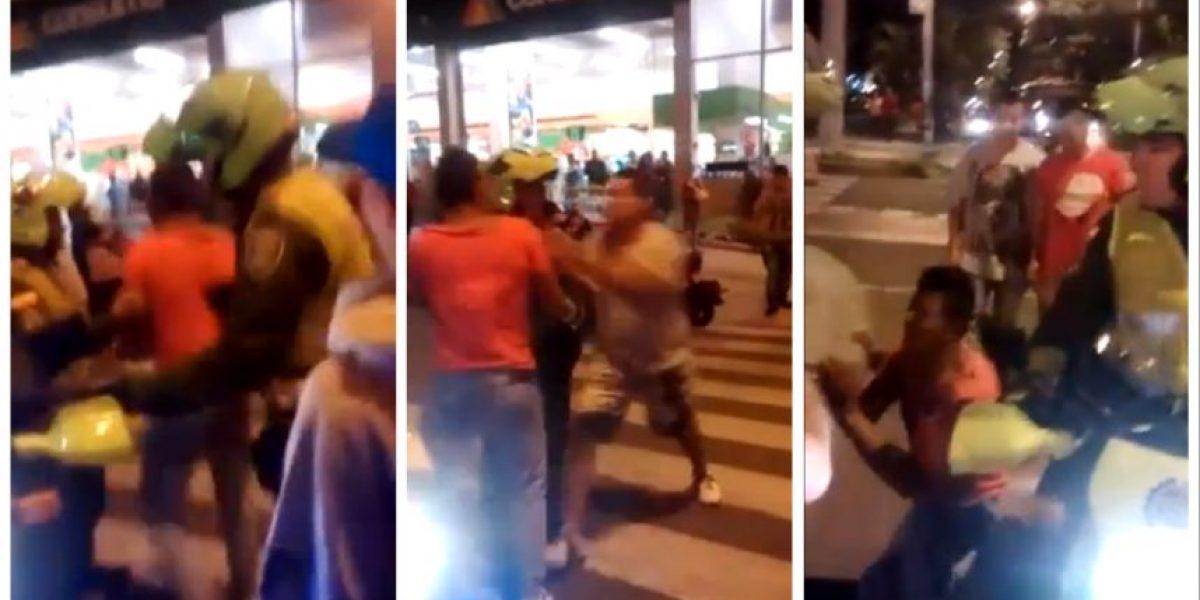 VIDEO: Ladrón terminó arrodillado pidiendo perdón para que no lo lincharan